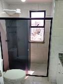 20) WC Social - Blindex - Armários