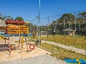 Playground, campo de futebol