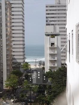 3 Dormitórios (suíte) com vista para o Mar