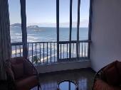 2 dormitórios frente ao mar no Guarujá