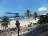 3 dormitórios frente ao mar no Guarujá