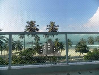 3 dormitórios (1 suíte) frente ao mar