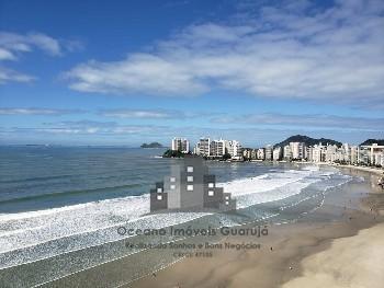 Apartamento Frente total para o mar