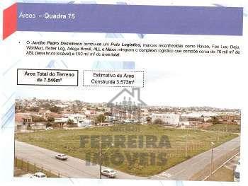 PINHAIS - Jd. Pedro Demeterco - GALPÃO C/ 3.573m²