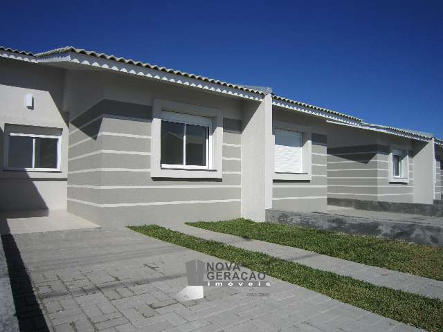 Casa geminada R$180mil 3DOMR