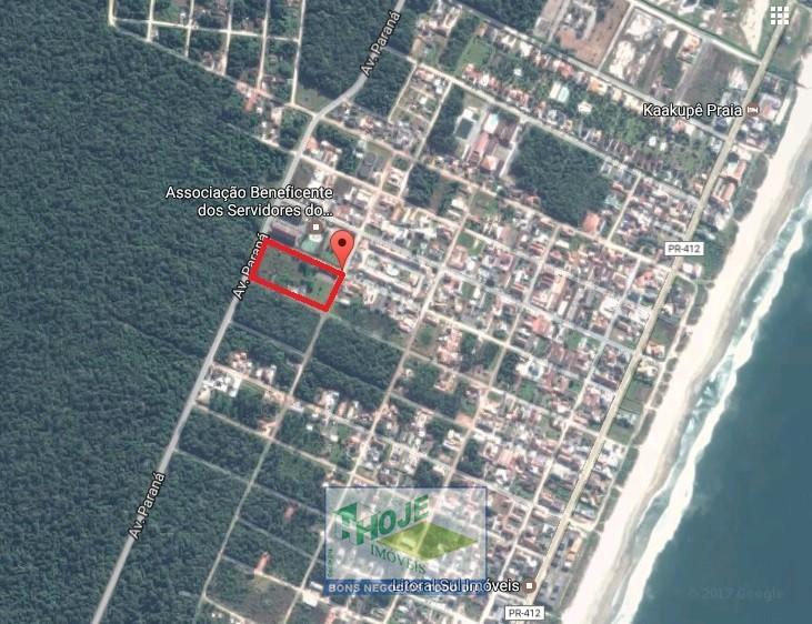 Terreno em Guaratuba. 14.400m². Quadra inteira!
