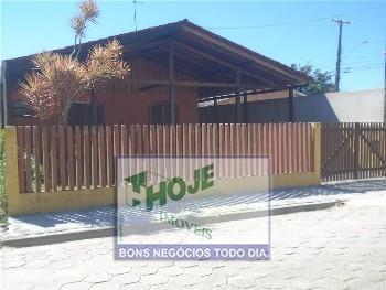 Casa  com terreno no Balneário Santa Terezinha