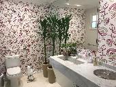 Banheiro recepção interio