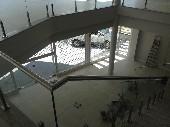 vista da escadaria