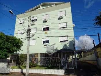 Apto. de 02 dormitórios com box no bairro Goiás
