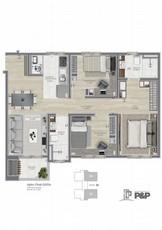 P&P 03 dormitórios