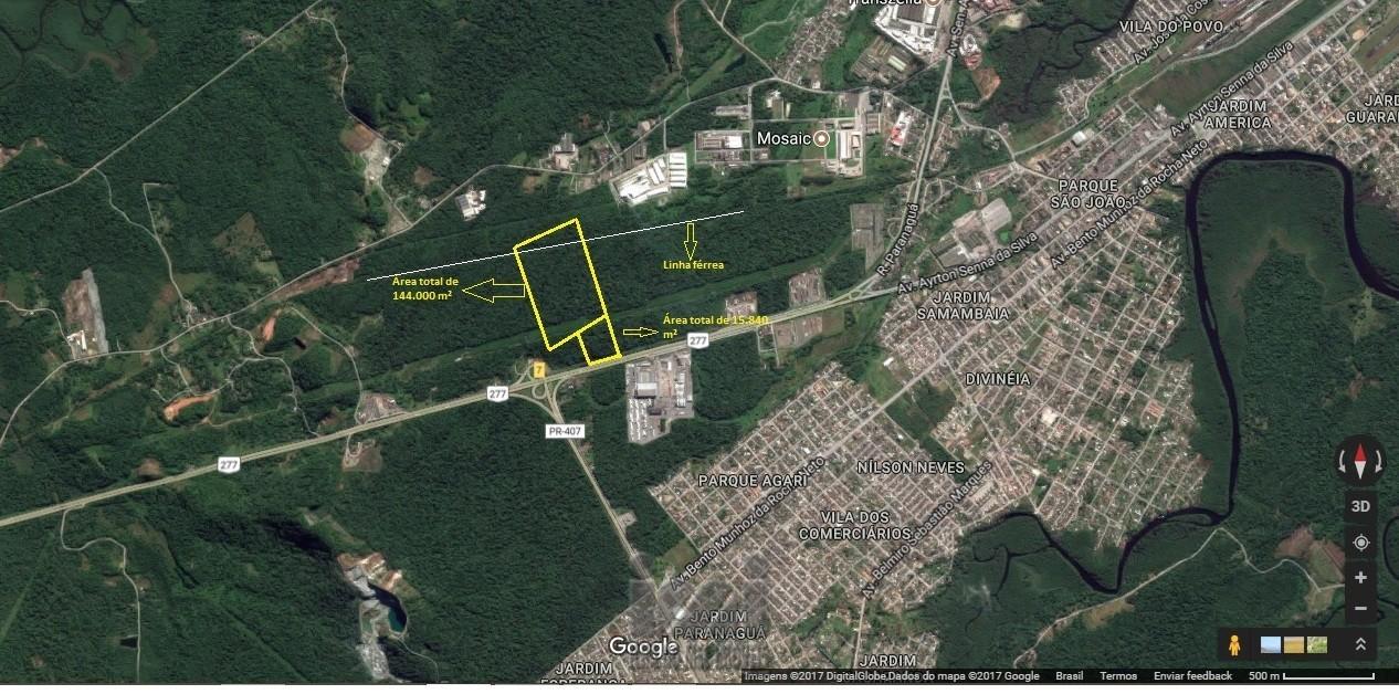 Área de Paranagu&aacute