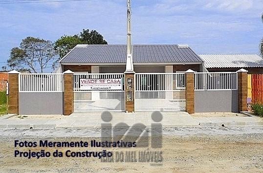 CASA 2 QUARTOS, SUÍTE, NOVA, BALNEÁRIO PRIMAVERA