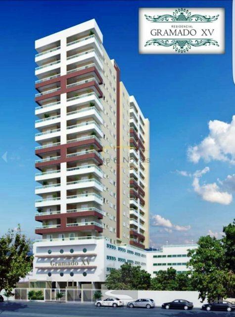 Apartamento na Praia Grande V Guilhermina á venda