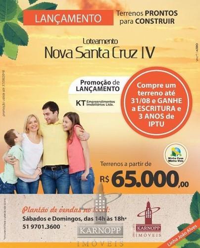 Lot. Nova Santa Cruz IV