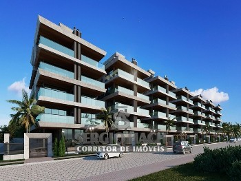 Apartamentos de 3 suítes de frente pro mar