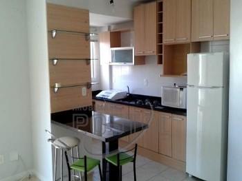 Apartamento de 02 Dorm, centro e Semi Mobiliado