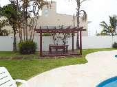 Deck no Jardim