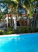 Aluguel de quartos em linda casa com piscina