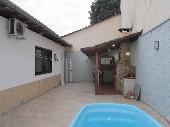 área piscina e churras