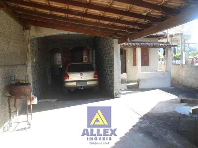 Varanda e garagem