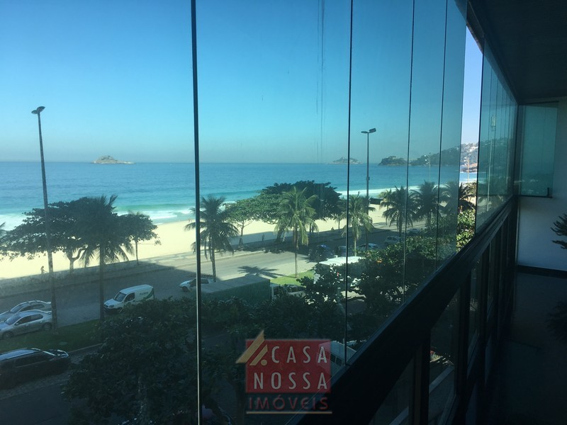 Apartamento todo lindo, frontal mar São Conrado