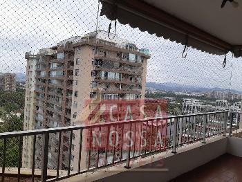 Apartamento Sala, quarto, varanda, garagem, vista