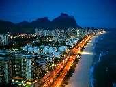 Barra Praia à noite FA10D