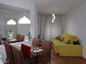 Apart. 3 dorm, sendo 1 suite em Taboão da Serra