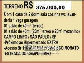 Terreno 110 m2 Jardim Umarizal São Paulo