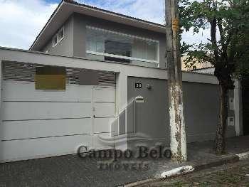 Casa sobrado no Campo Belo com 3 Dormit�rio