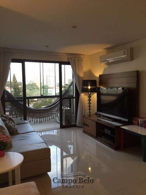 Apartamento no Campo Belo, com 180 m�.