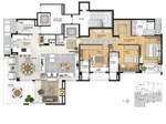 177 m² - living estendido