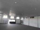 Vista interna Barracão