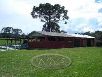 Área Rural na SC 425 que liga Lages e Ot. Costa
