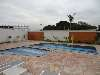 Área das piscinas Garden Botan