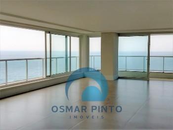 Apartamento 4 suítes com vista para o mar