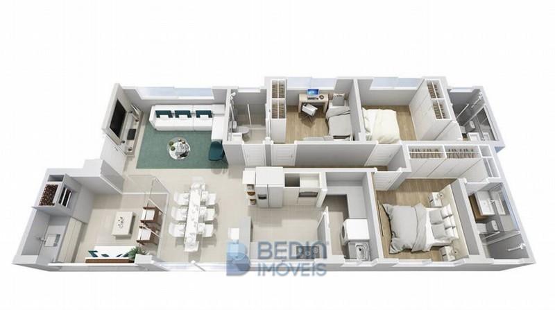 Isometria Apartamento Tip