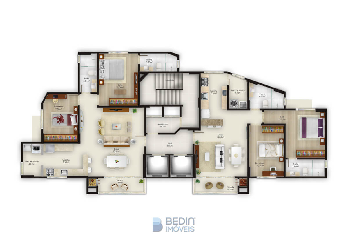 Barcelona Residencial - A