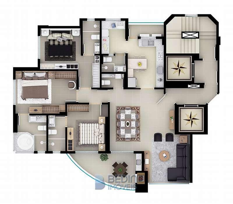 Planta apartamento