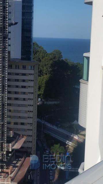 Vista da sacada da Suite