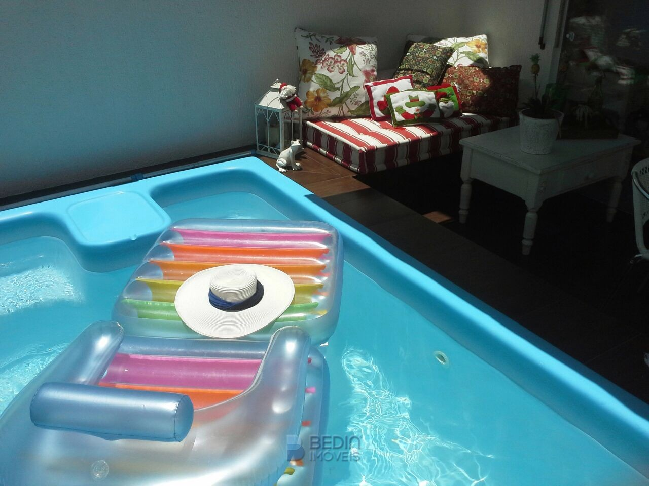 Casa com piscina Balneário