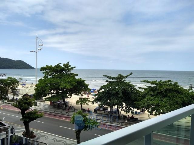 Vista mar apartamento locação