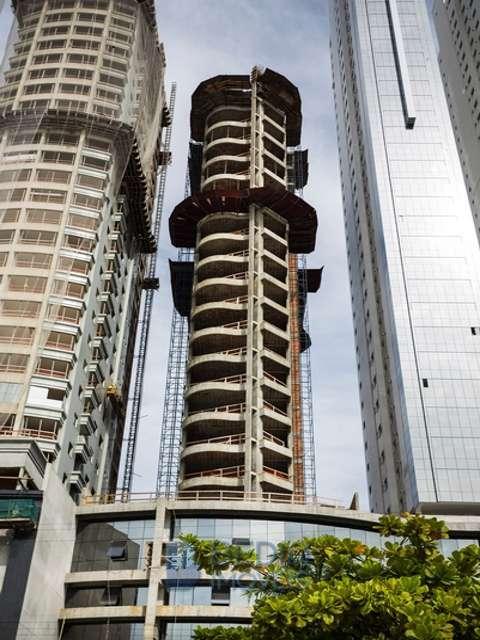 FACHADA TORRE SUL (Construção)