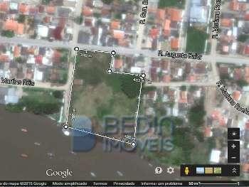 Terreno frente Rio - Boca da Barra