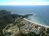 Terreno no único condomínio fechado frente mar BC