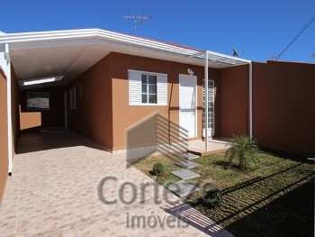 Casa térrea com 3 quartos no Afonso Pena