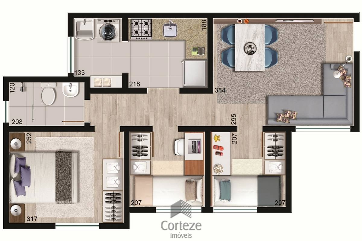 Apartamento 3 quartos em Colombo