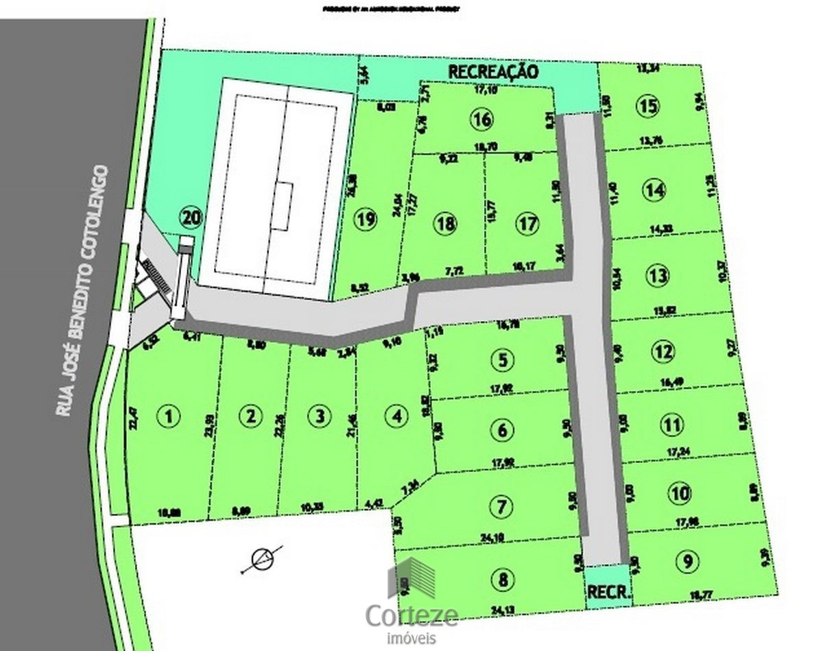 Terreno em condomínio à venda - Campo Comprido
