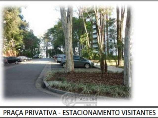 Praça privativa  e estaci
